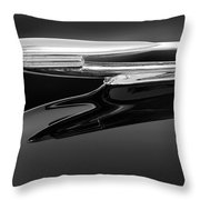 1940 Cadillac La Salle Hood Ornament 2 Throw Pillow