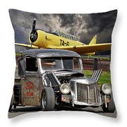 1940 Ford Rat Rod Pickup IIi Throw Pillow