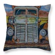 1940 International Harvester Truck Throw Pillow