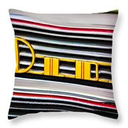 1940 Oldsmobile Emblem Throw Pillow