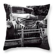 1940's Chevrolet Truck Throw Pillow