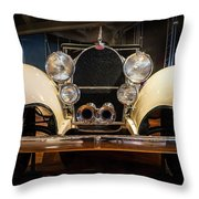 1941 Bugatti Type 41 Royale At The Henry Ford Museum Throw Pillow