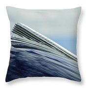 1941 Chevrolet Hood Ornament 2 Throw Pillow
