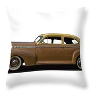 1941 Chevrolet Special Deluxe Throw Pillow