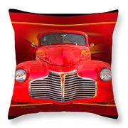 1941 Chevy Custom Throw Pillow