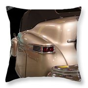 1941 Lincoln Continental  Throw Pillow
