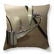 1941 Lincoln Continental Side Mirror Throw Pillow