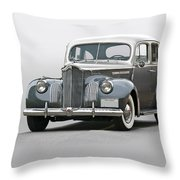 1941 Packard 120 Sedan I Throw Pillow