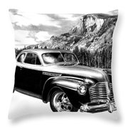 1941 Roadmaster - Half Dome Throw Pillow