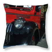 1942 Cfhevy Truck Throw Pillow