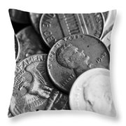1942-old-coins Throw Pillow