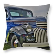 1946 Chevy Throw Pillow