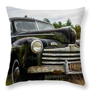 1946 Ford Model A Throw Pillow