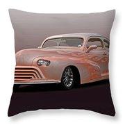 1946 Oldsmobile 'custom' Sedanette 'studio' Throw Pillow
