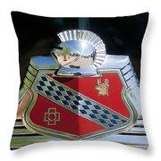 1947 Buick Emblem 2 Throw Pillow