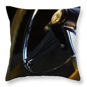1947 Cadillac Model 62 Coupe Steering Wheel Throw Pillow