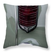 1947 Chrysler Tail Lights Throw Pillow