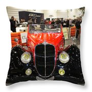 1947 Delahaye 135m Letourner Et Marchand Cabriolet Throw Pillow