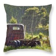 1947 Dodge Pickup Rain And Sun Throw Pillow