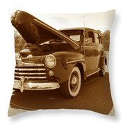 1947 Ford Throw Pillow