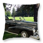 1947 Pontiac Convertible Photograph 5544.07 Throw Pillow