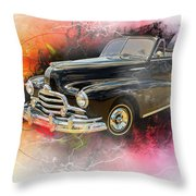 1947 Pontiac Convertible Photograph 5544.08 Throw Pillow