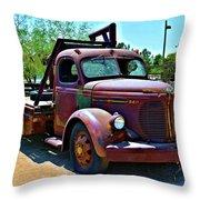 1947 Reo Speed Wagon Truck Throw Pillow