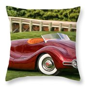 1948 Buick Streamliner Throw Pillow