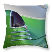 1948 Cadillac Taillight Throw Pillow
