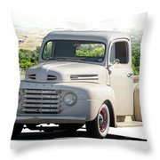 1948 Ford F1 Stepside Pickup I Throw Pillow