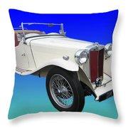 1948 Mg Tc Throw Pillow