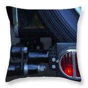 1948 Mg Tc Taillight Throw Pillow