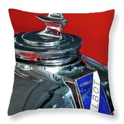 1948 Talbot-lago T26 Record Cabriolet Hood Ornament Throw Pillow