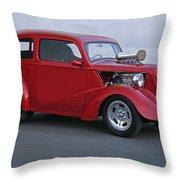 1949 Anglia Pro Street I Throw Pillow