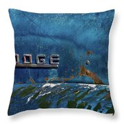 1949 Dodge Truck Symbol Throw Pillow