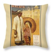 Public Domain Images Throw Pillow