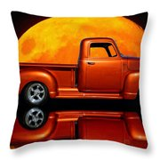 1950 Chevy Pickup Poster Throw Pillow