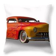 1950 Mercury Coupe Throw Pillow