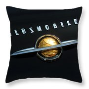 1950 Oldsmobile Rocket 88 Convertible Emblem Throw Pillow