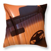 1950 Oldsmobile Rocket 88 Convertible Interior Throw Pillow
