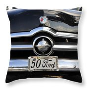 1950s Ford Throw Pillow