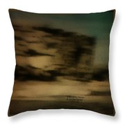 1950's - Hopi Village Throw Pillow