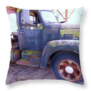 1950s International Truck Throw Pillow