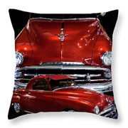 1951 Business Coupe Throw Pillow