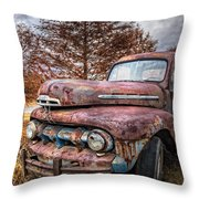 1951 Ford Truck Throw Pillow