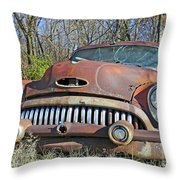 1952 Buick For Sale Throw Pillow