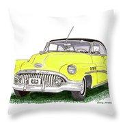 1952 Buick Special Throw Pillow