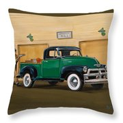 1952 Ford F100 Pickup Throw Pillow