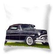 1952 Hudson Hornet Convertible Throw Pillow