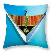 1952 Studebaker Emblem Throw Pillow